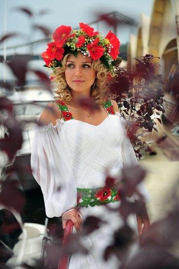 заказать платья в украинском стиле.