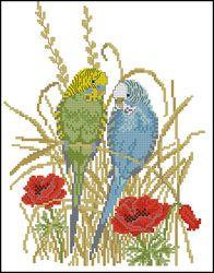 Похожие схемы вышивки крестом.  Схема 'Золотая птица'.  165 x 247 крестов Схема скачана 5186 раз(а) .