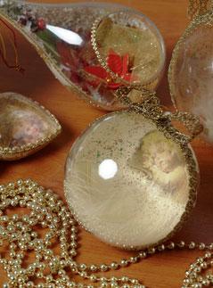 Новогодний шар своими руками мк