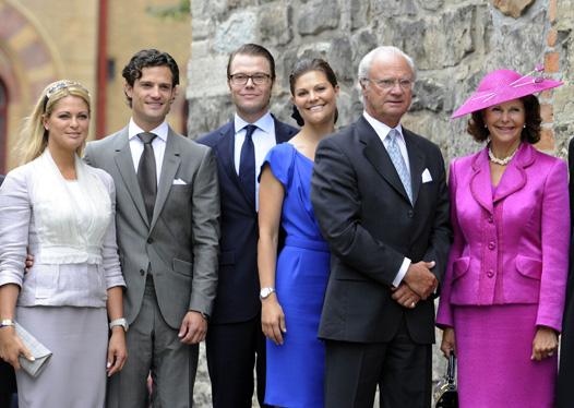 Королевская семья Швеции. Текст Евгения Маврина.