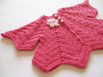 钩针儿童披肩——波浪形编织