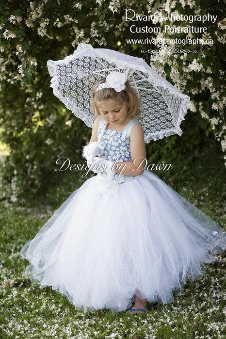 Юбка для принцессы своими руками