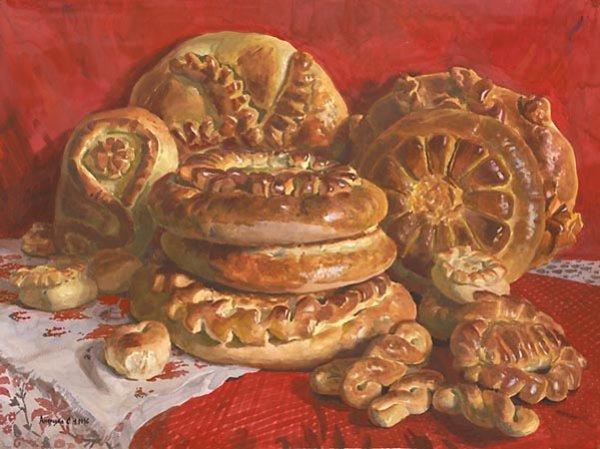 Пироги связанные с традициями на руси