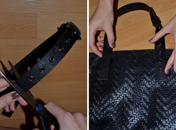 Как отремонтировать ручку на сумке своими руками