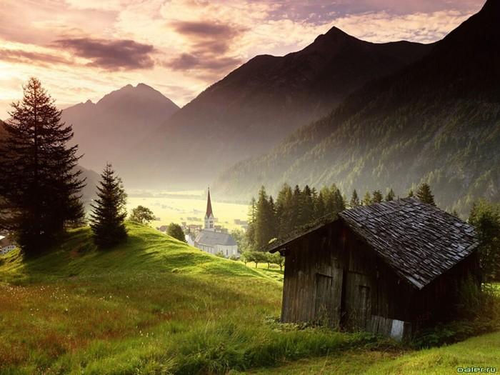 Лучший зимний отдых - каникулы в Австрии