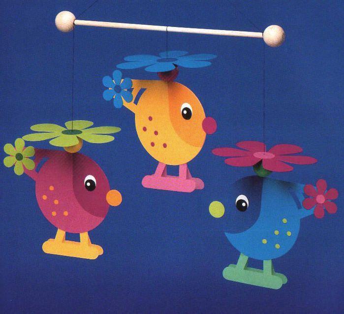 Игрушки из цветного картона своими руками фото