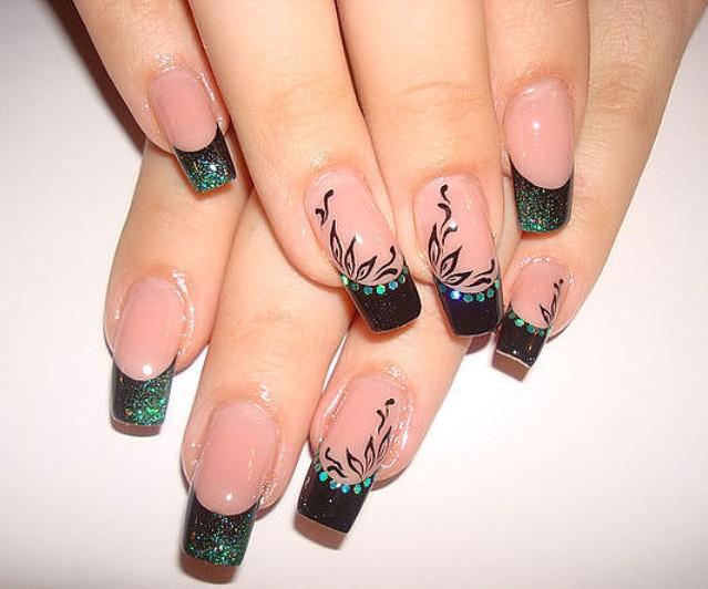 Рисунки на ногтях гелем новинки