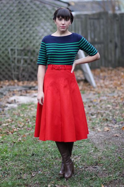 green-striped-ralph-lauren-blouse-red-full-vintage-skirt_400 (400x600, 132Kb)