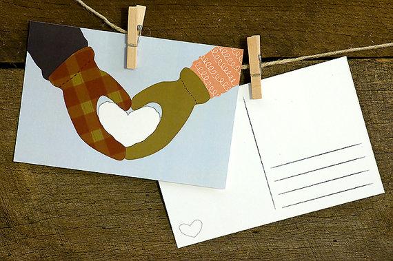 Рождественские открытки своими руками рисовать