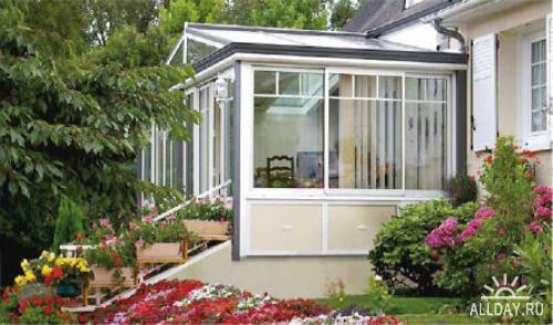 Удобная и красивая веранда для вашего дома и дачи
