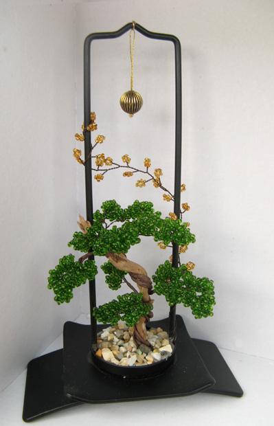 Бисероплетение деревья бонсай схема - Делаем фенечки своими руками.