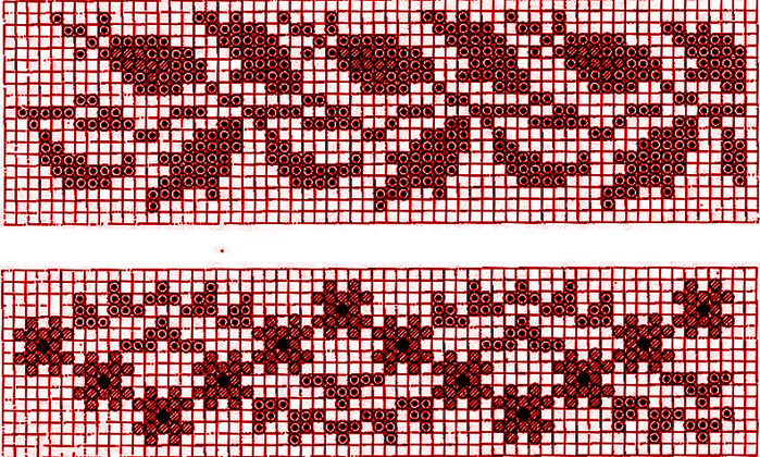 бисерное ткачество схемы