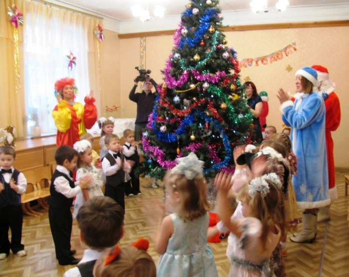 Праздник детский сад новый год