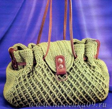 сумочка крючком (365x354, 75Kb)