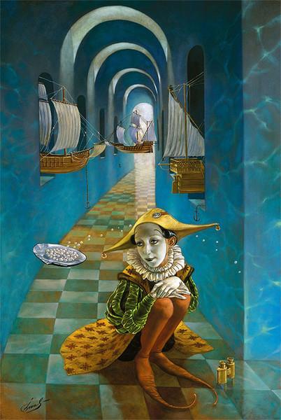 Михаил Хохлачёв (Michael Cheval). 2 (402x600, 101Kb)