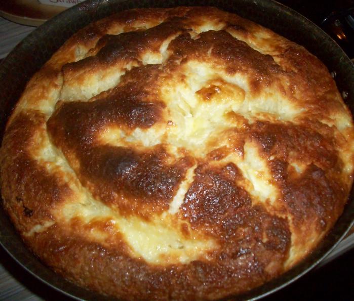 Как сделать пирог из муки сахара и яиц