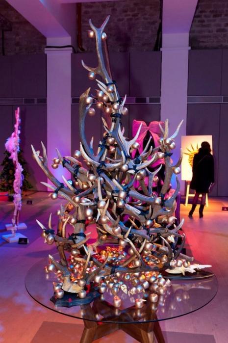 Модное новогоднее оформление елки от лучших дизайнеров мира