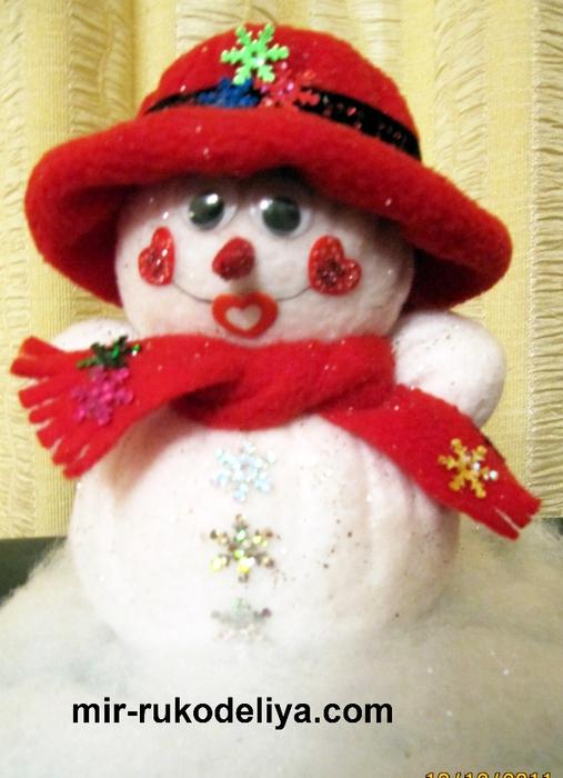 мои работы снеговик 003 (507x700, 254Kb)