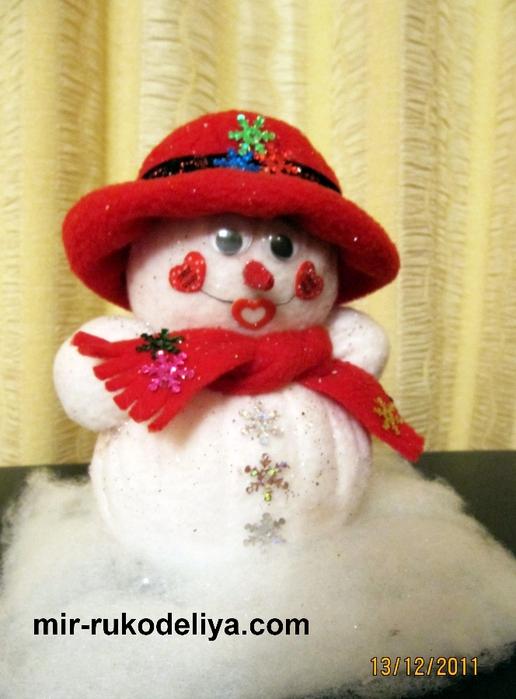 мои работы снеговик 005 (516x700, 254Kb)