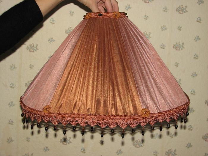 Абажур из ткани для торшера своими руками