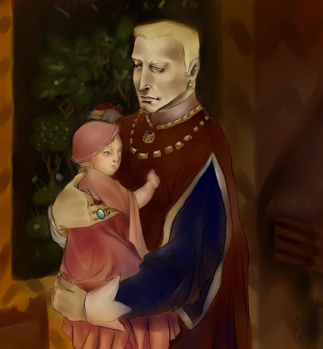 Райнер и младенец (648x700, 374Kb)