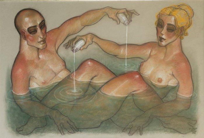 Жорез Мачадо. Ванна с ароматом любви. (700x474, 55Kb)
