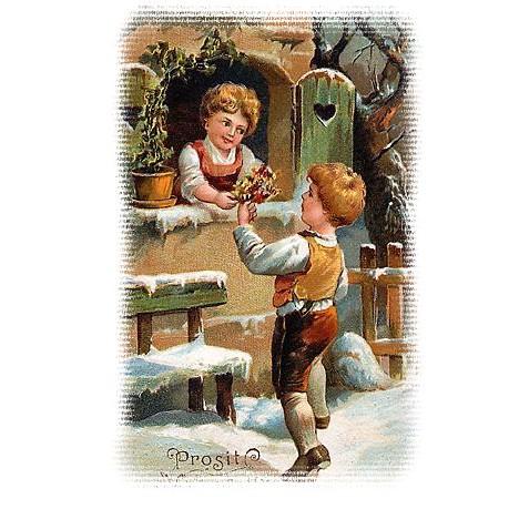 Немецкие старинные открытки