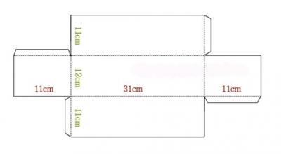 Как сделать коробку прямоугольную из картона своими