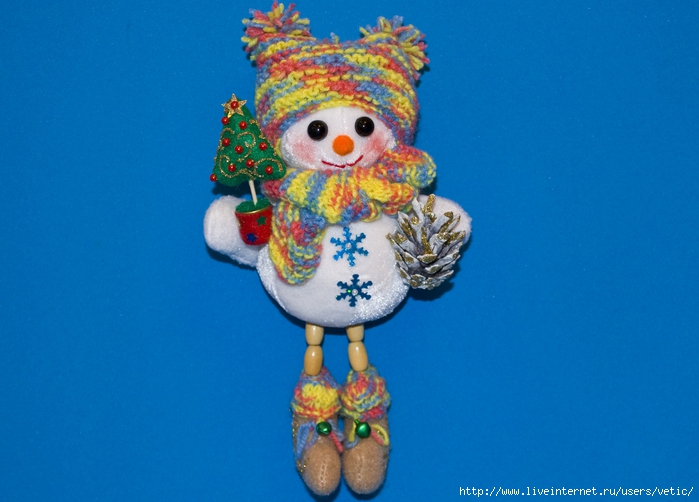 снеговичок с ножками висюльками (ёлочка)01 (700x502, 234Kb)