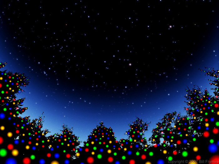 christmas_tree_lights_silhouette_star_sky (700x525, 70Kb)