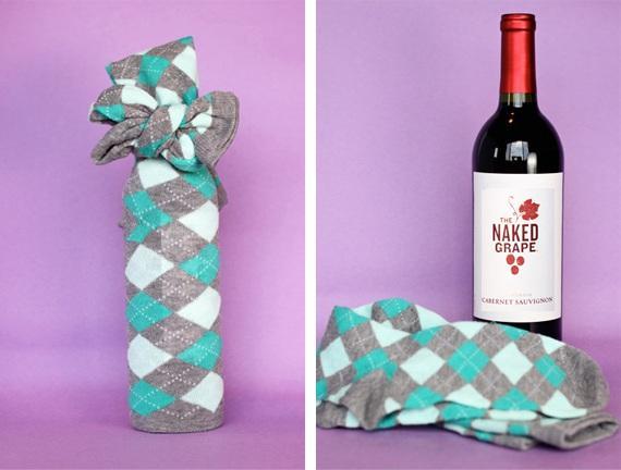 Подарок с бутылкой