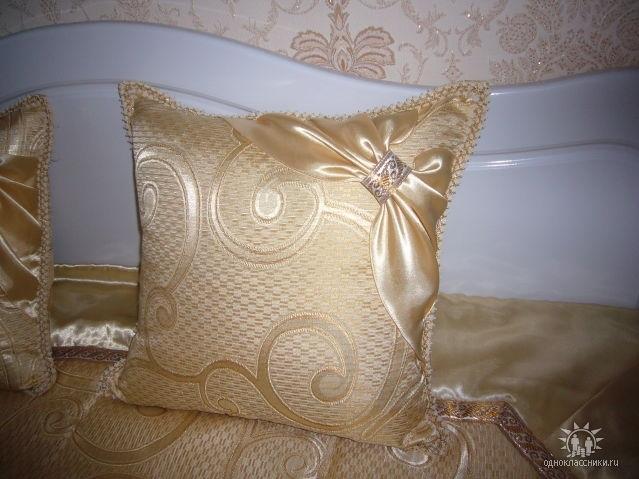 Декоративные подушечки своими руками