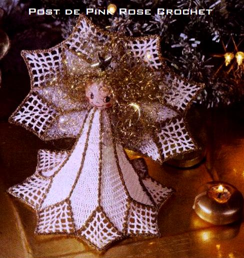 Anjo de Natal - Croche - PRose Crochet (488x515, 554Kb)