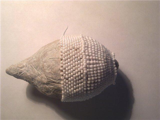 Лебеди из бисера МК.