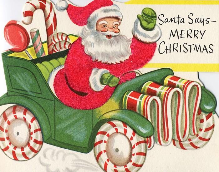 На чем ездит Дед Мороз образца 2012 года
