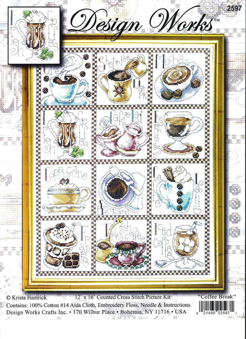 Design Works-DW2597-Coffee