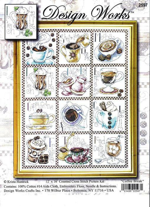 Design Works-DW2597-Coffee Break-small (508x700, 110Kb)