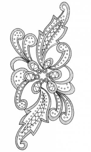 Трафареты для люневильской вышивки распечатать