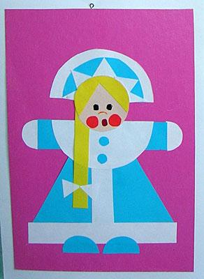 Новогодние игрушки из геометрических фигур своими руками