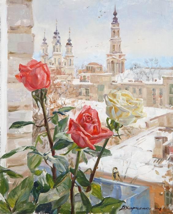 зимний натюрморт: