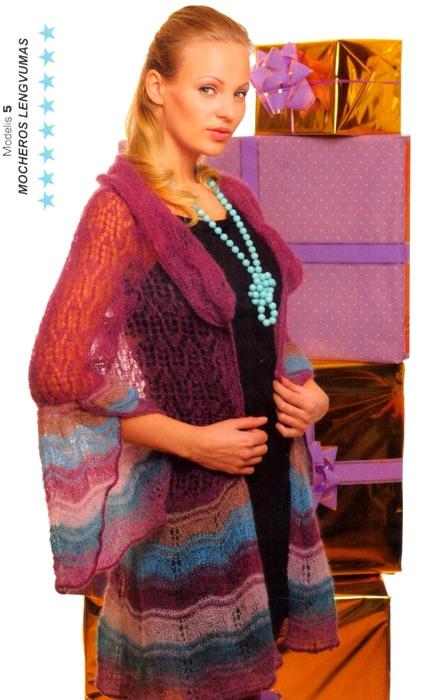 Вязание из мохера: выбираем нитки и принимаемся за вязание.