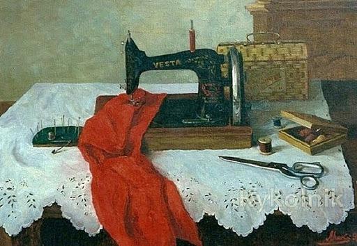 44 Ольга Минкина «Швейная машинка» (512x354, 76Kb)