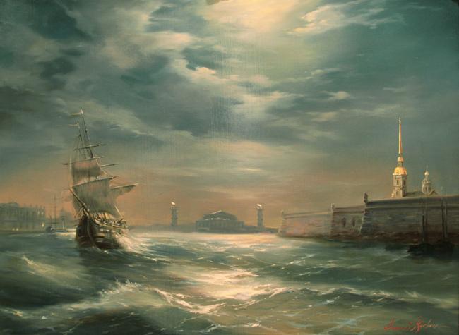 Петербург в белом фраке ночей (650x475, 117Kb)