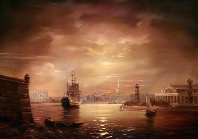 Ночной Петербург (650x456, 102Kb)