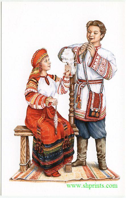 Русские традиции в костюме