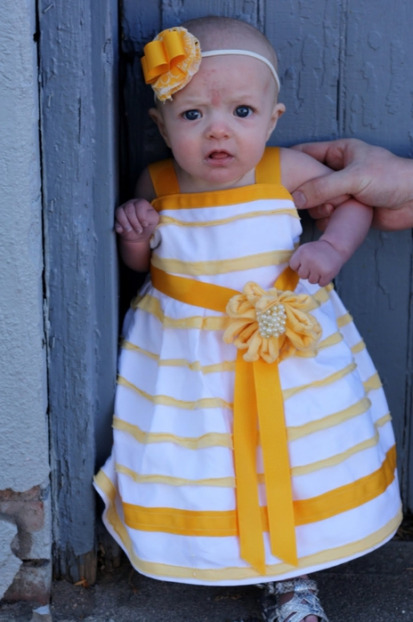 Как строится выкройка: платье для девочки 1 год 81