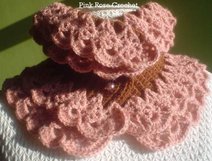 Asten Lace Muffler - PinkRoseCrochet Blog (700x530, 59Kb)