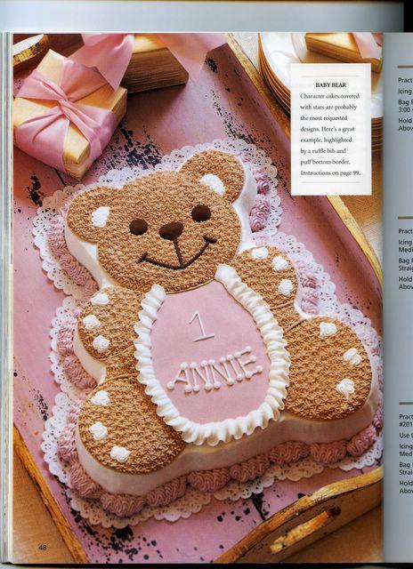 торт детский мишка своими руками
