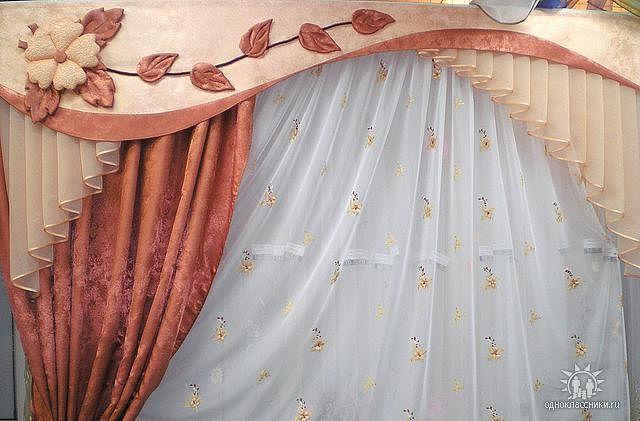 Шторы для зала фото с выкройками