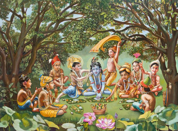 Чего желает Кришна на GovindasClub